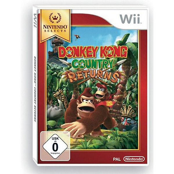 Wii Donkey Kong Country Returns Selects