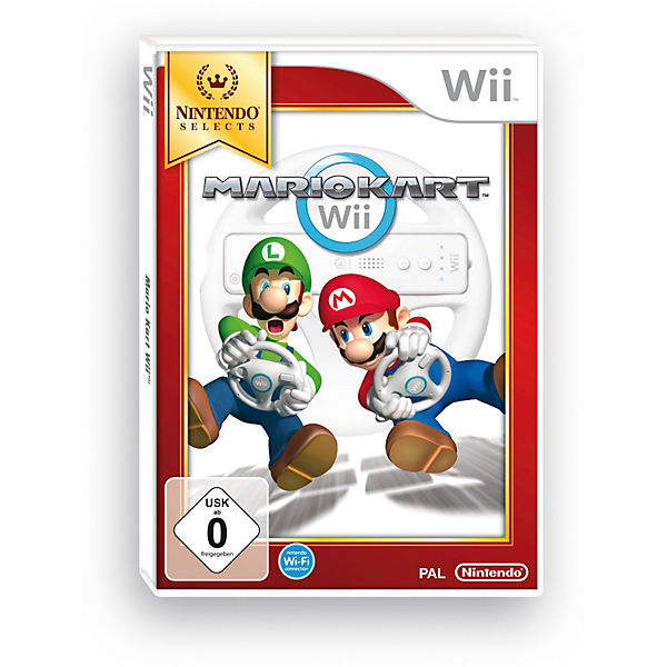 Wii Mario Kart Selects (ohne Lenkrad)