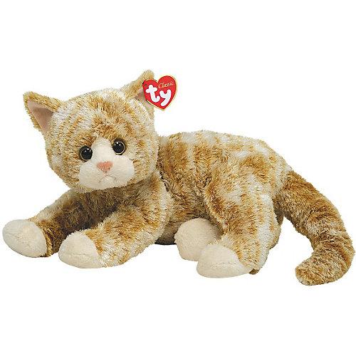 Ty Classic Katze Cobbler hellbraun, 33 cm