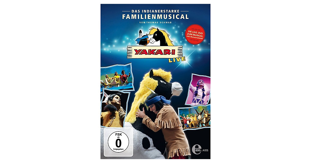 DVD Yakari - Live on Tour - Das Familienmusical