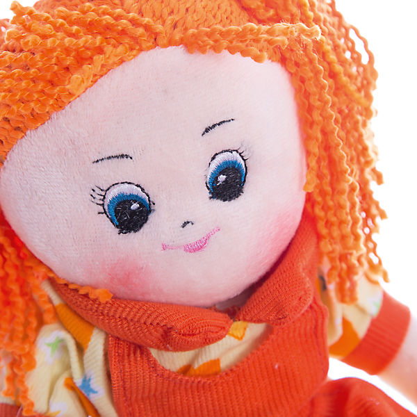 """Кукла в платье с сердечками """"Апельсинка"""", 40 см, Gulliver"""