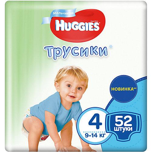 Трусики-подгузники Huggies для мальчиков 9-14 кг, 52 штуки от HUGGIES