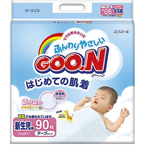 Подгузники Goon, NB до 5 кг, 90 шт. от Goon