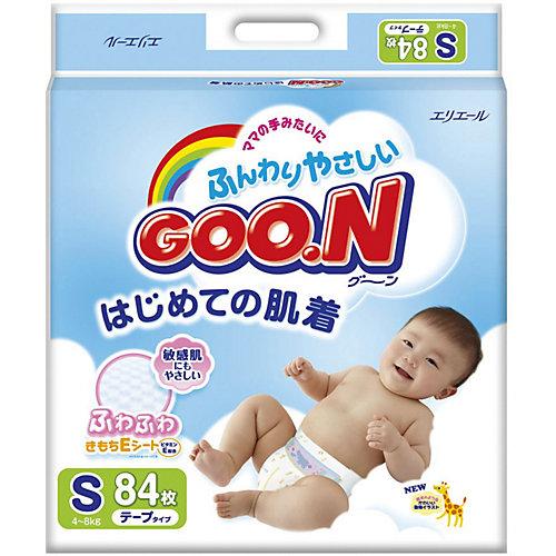 Подгузники Goon, S 4-8 кг, 84 шт. от Goon
