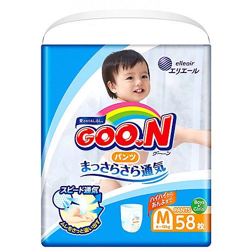 Подгузники-трусики Goon, М 6-12 кг, 58 шт. от Goon
