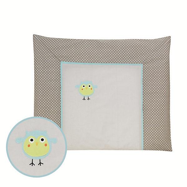 wickelauflage mit bezug birds 70 x 85 cm alvi mytoys. Black Bedroom Furniture Sets. Home Design Ideas