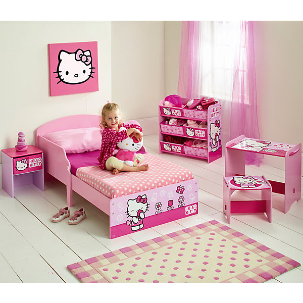 hello kitty nachttisch hello kitty mytoys. Black Bedroom Furniture Sets. Home Design Ideas