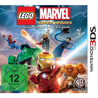 3DS LEGO Marvel Super Heroes