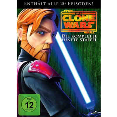DVD Star Wars The Clone Wars - Season 5