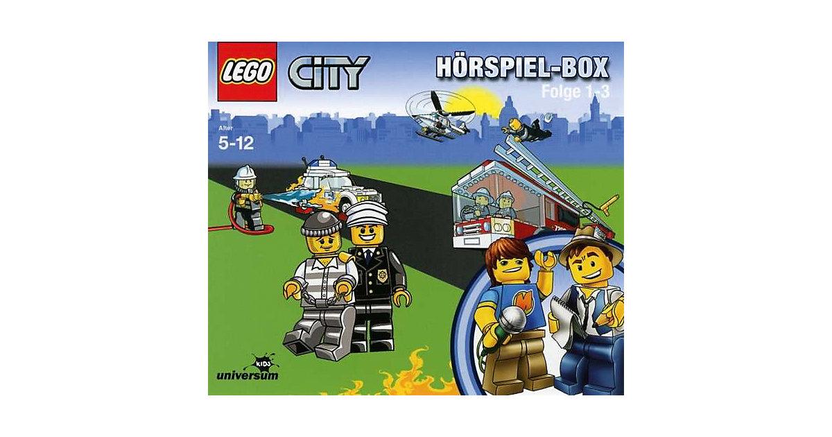 CD LEGO City Hörspielbox 1-3