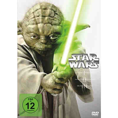 DVD Star Wars Trilogie 1-3