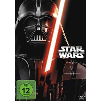 DVD Star Wars Trilogie 4-6