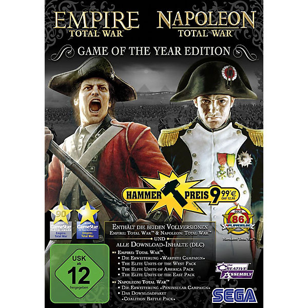 PC Total War - Empire & Napoleon GOTY
