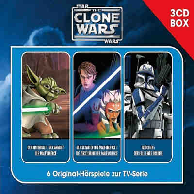 CD The Clone Wars - Hörspielbox Vol. 1, 3 Audio CDs