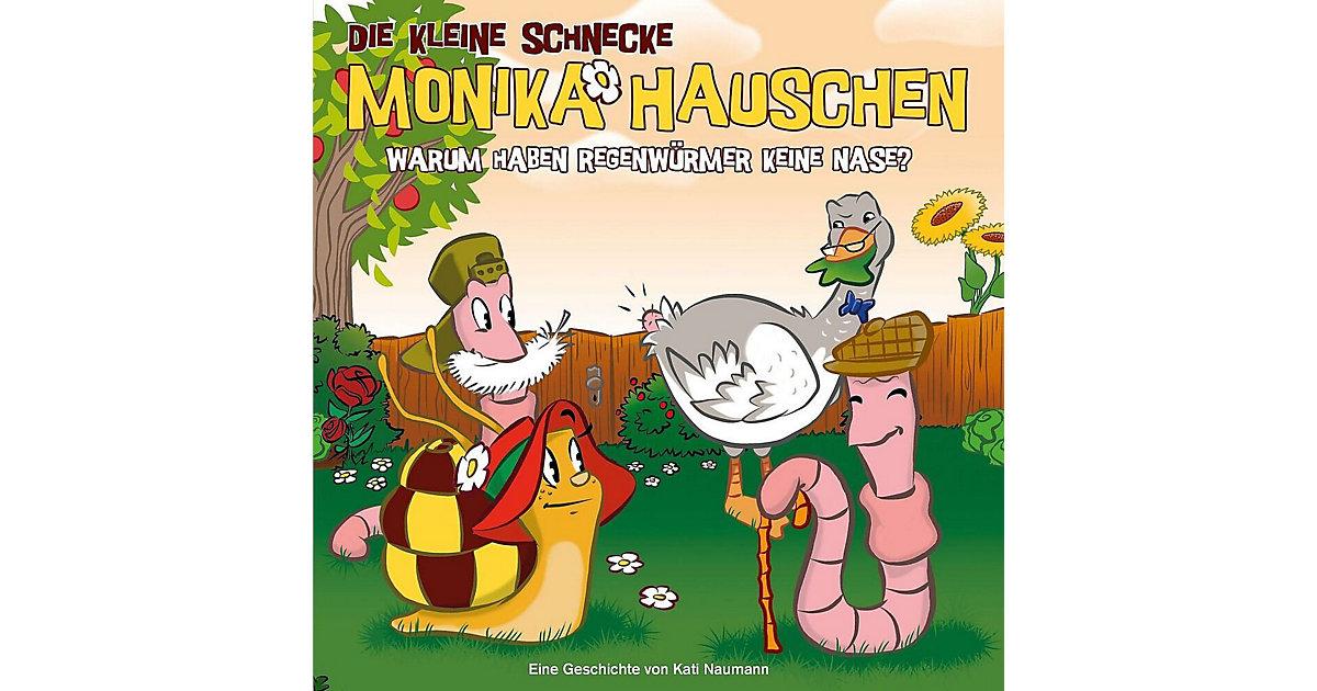 CD Die kleine Schnecke Monika Häuschen 32 - Warum haben Regenwürmer keine Hörbuch