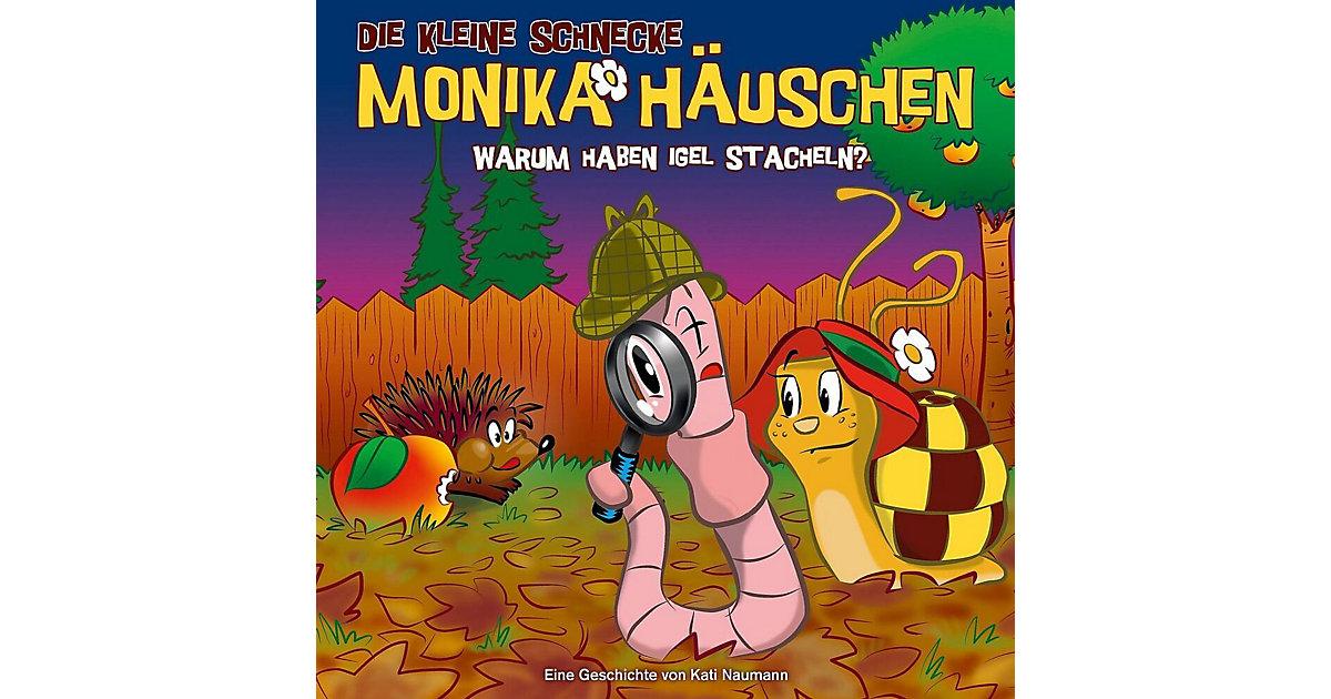 CD Die kleine Schnecke Monika Häuschen 33 - Warum haben Igel Stacheln Hörbuch
