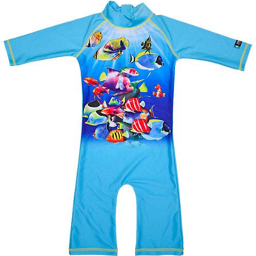 Baby Schwimmanzug mit UV-Schutz Gr. 86/92 Mädchen Kleinkinder | 07394437345463