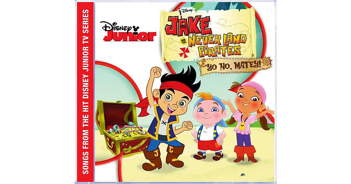 CD Jake und die Nimmerland Piraten - Musikalbum