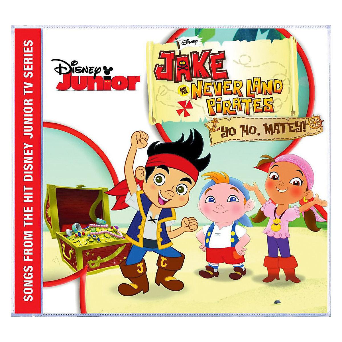 cd jake und die nimmerland piraten  musikalbum disney