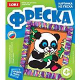 "Фреска-картина из песка ""Крошка панда"", LORI"