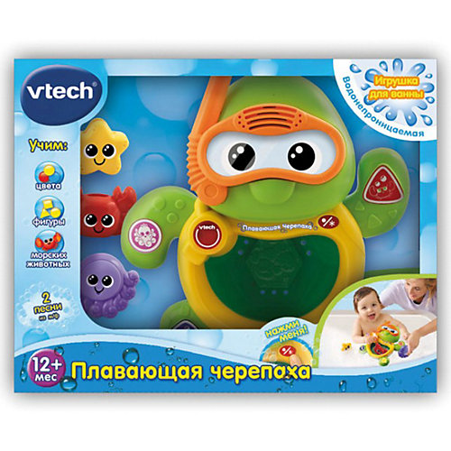 """Игрушка для ванной """"Черепаха"""", Vtech от Vtech"""