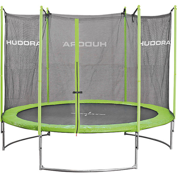 trampolin family 300 cm mit sicherheitsnetz hudora mytoys. Black Bedroom Furniture Sets. Home Design Ideas