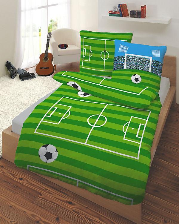Kinderbettwäsche Fußball Renforce 135 X 200 Cm Mytoys