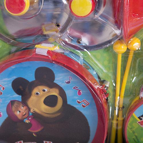 Набор музыкальных инструментов, 10 предметов, Маша и Медведь от Играем вместе