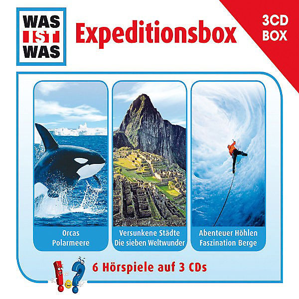 cd was ist was expeditionsbox universal mytoys. Black Bedroom Furniture Sets. Home Design Ideas