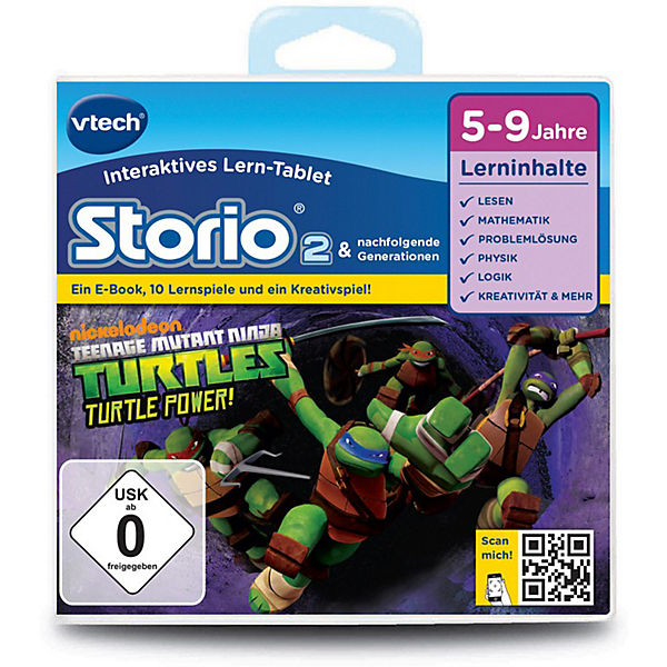 "Storio 2, 3 & Max Lernspiel ""Teenage Mutant Ninja Turtles"""