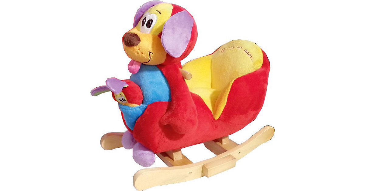 Knorr Toys · 2 in 1 Schaukelhund ´´Wuffy´´ inkl. Handpuppe