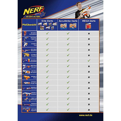 Комплект стрел Nerf для бластеров Mega, 10 шт от Hasbro