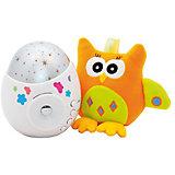 """Проектор звездного неба """"Colibri"""" с игрушкой сова, Roxy-Kids"""