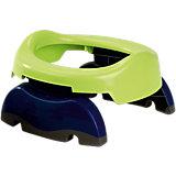 Дорожный горшок Potette Plus сине-зелёный
