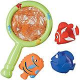 """Набор ПВХ-игрушек для ванной """"Веселая рыбалка"""" LITTLE FISHER Happy Baby"""