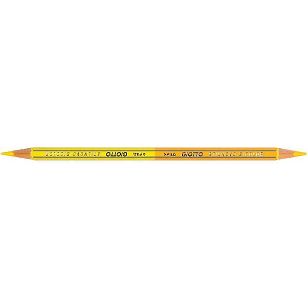 Двухсторонние цветные карандаши, 12 штук, 24 цвета.