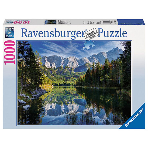 Eibsee mit Wettersteingebirge und Zugspitze, Zugspitze, Zugspitze, Ravensburger f33ecf