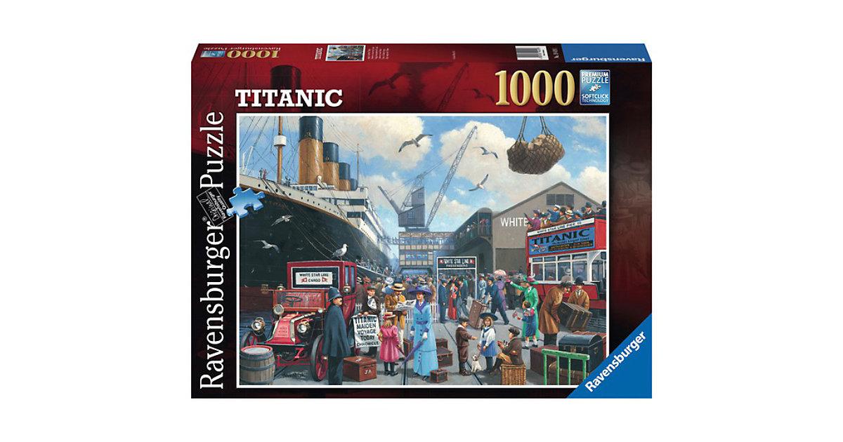 Jungfernfahrt der Titanic, 1000 Teile