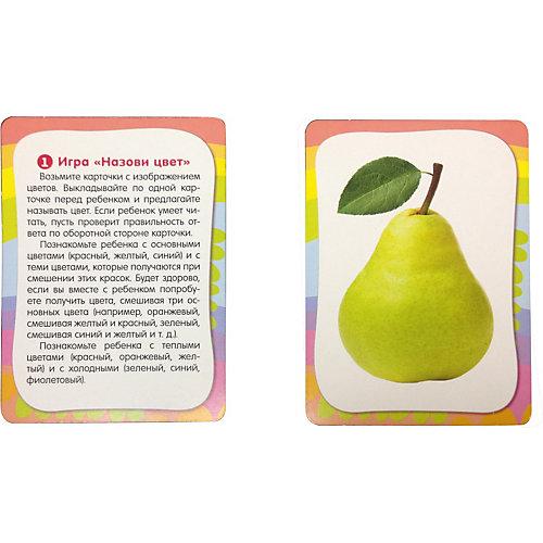 """Развивающие карточки """"Изучаем цвета"""", Умные карточки от Росмэн"""