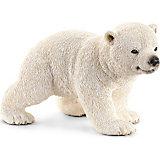 Белый медвежонок, Schleich