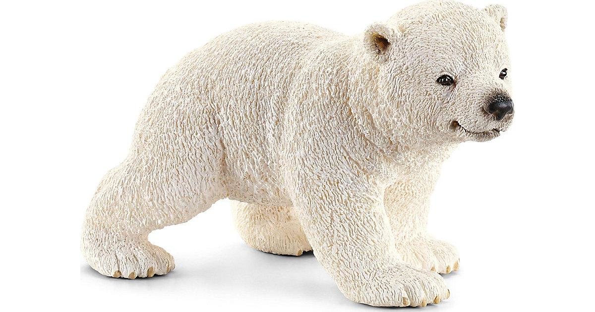 Schleich 14708 Wild Life: Eisbärjunges, laufend