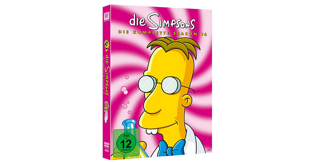 DVD Simpsons - Season 16
