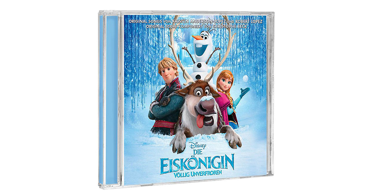 CD Disney Die Eiskönigin - Völlig unverfroren (...