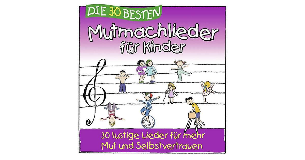 CD Die 30 besten Mutmachlieder Kinder Kinder