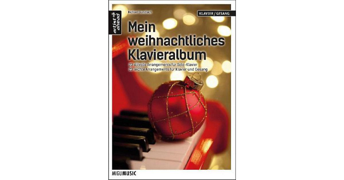 Mein weihnachtliches Klavieralbum, Solo-Klavier...