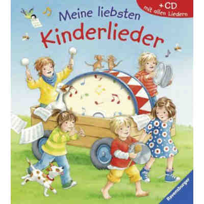 Meine liebsten Kinderlieder, m. Audio-CD