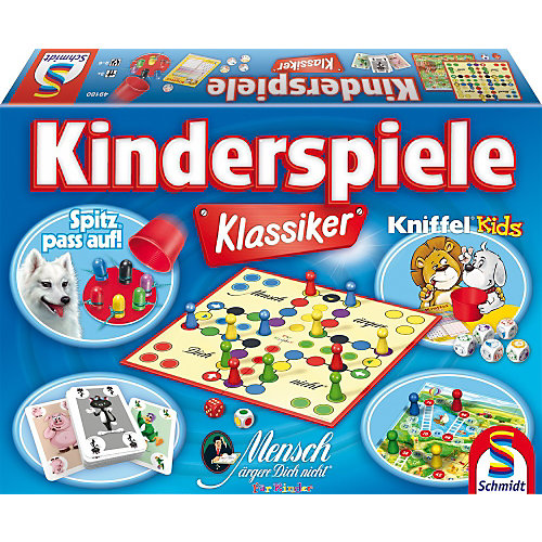 Schmidt Spiele Spielesammlung Kinderspiele Klassiker Sale Angebote Nievern