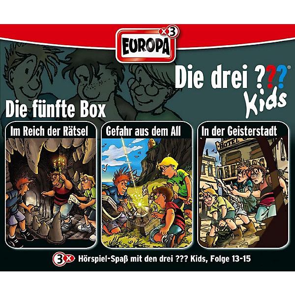 cd die drei kids 05 3er box 13 15 die drei fragezeichen mytoys. Black Bedroom Furniture Sets. Home Design Ideas