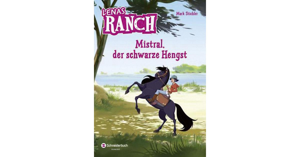 Lenas Ranch: Mistral, der schwarze Hengst