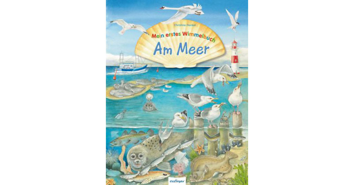 Mein erstes Wimmelbuch: Am Meer